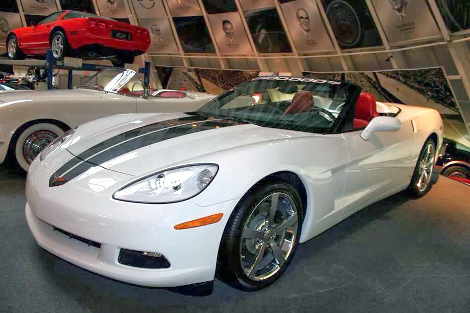 1,500,000th Chevrolet Corvette on display at the National Corvette Museum