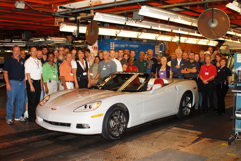 1,500,000th Chevrolet Corvette