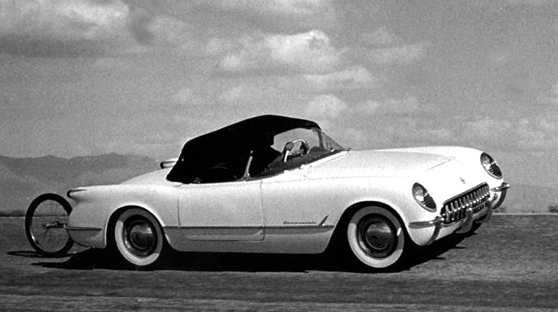 1953 Corvette Performance Testing