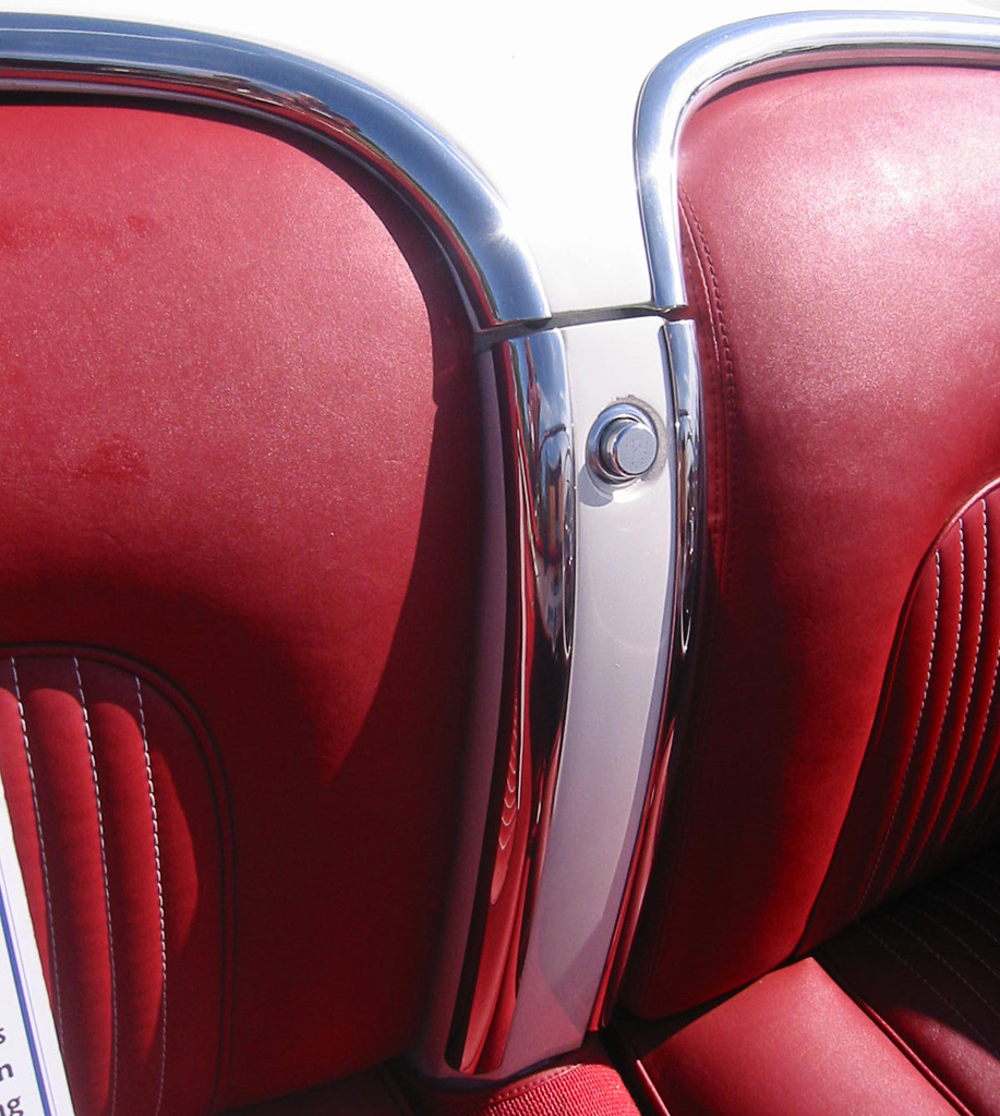 1953 Corvette waterfall Interior