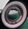 Early 1953 Corvette wheel