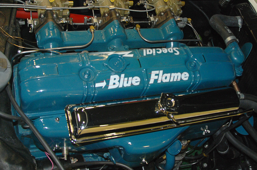 1953 Corvette Blue Flame Special Engine