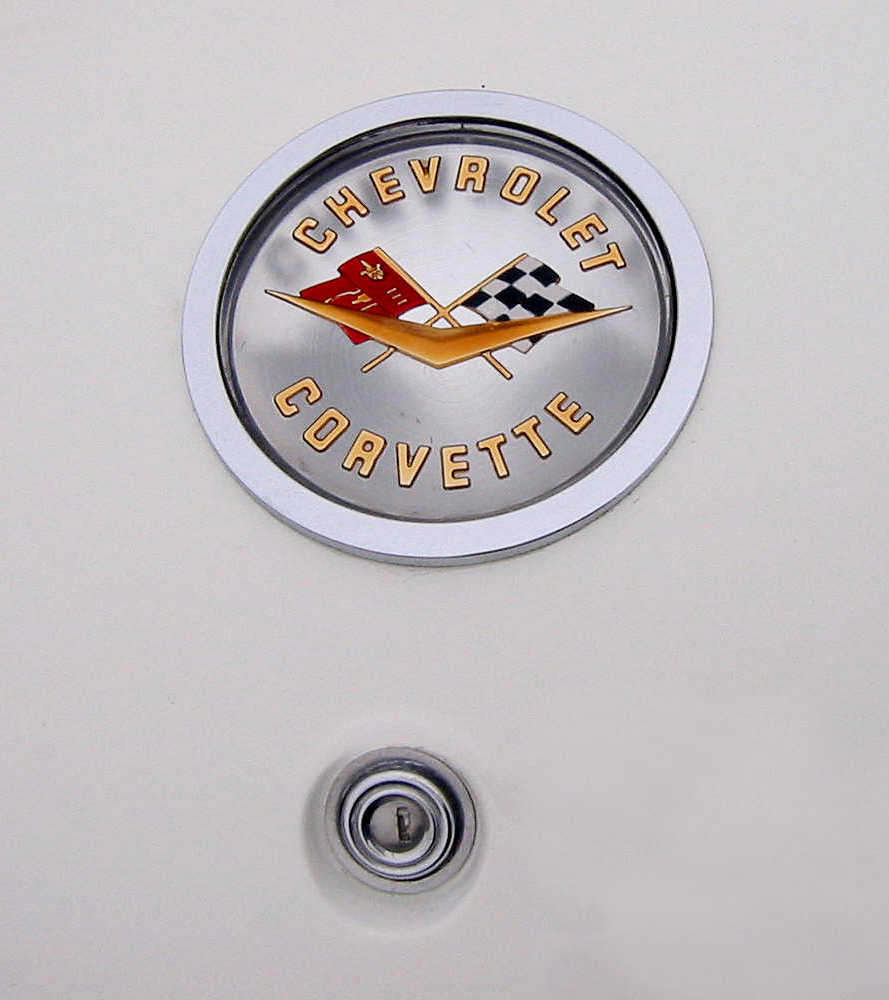 1958 Chevrolet Corvette Trunk Emblem