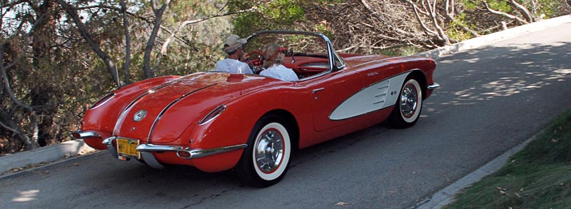 1958 Chevrolet Corvette in Signet Red