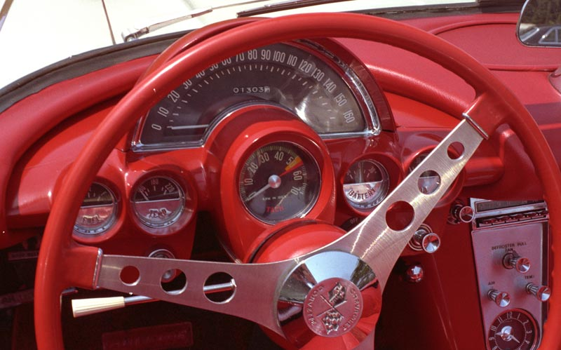 1958 Chevrolet Corvette Instruments