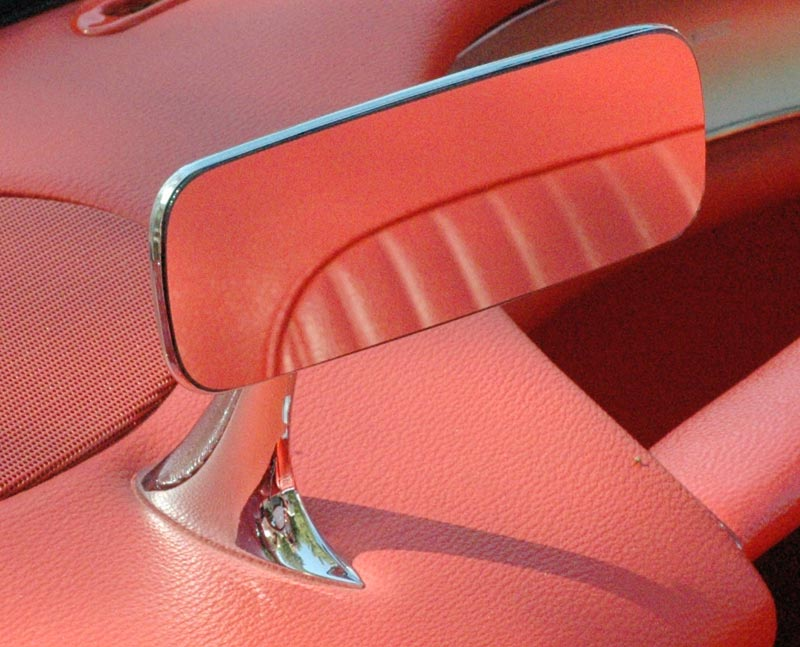 1958 Chevrolet Corvette Rear View Mirror