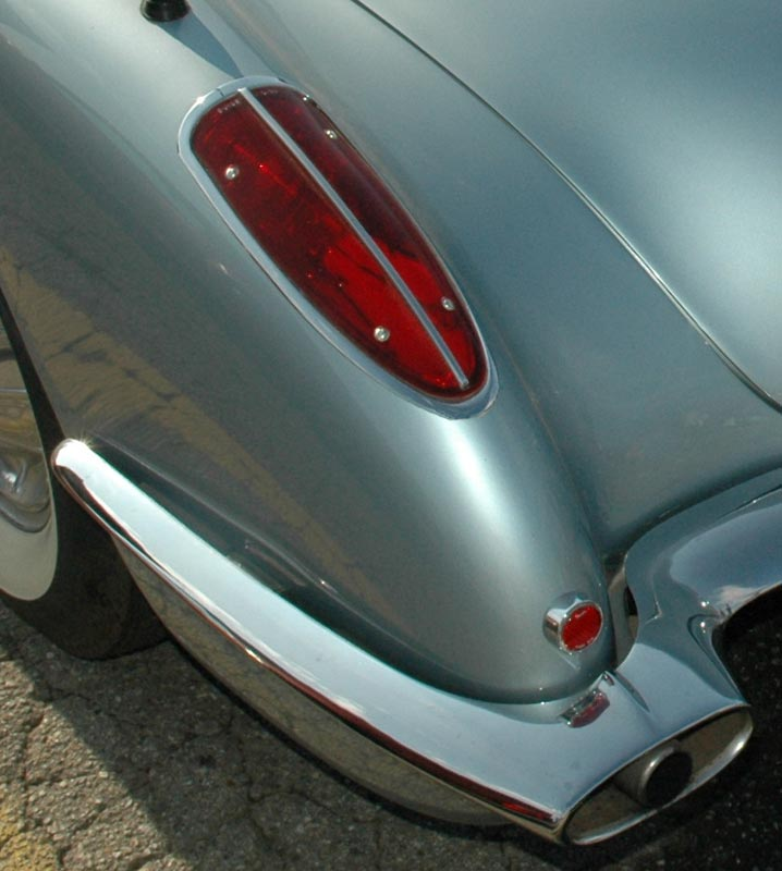 1958 Chevrolet Corvette Tail Light