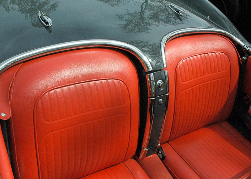 1958 Chevrolet Corvette Interior