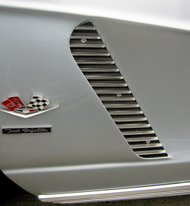 1962 Chevrolet Corvette Cove Trim