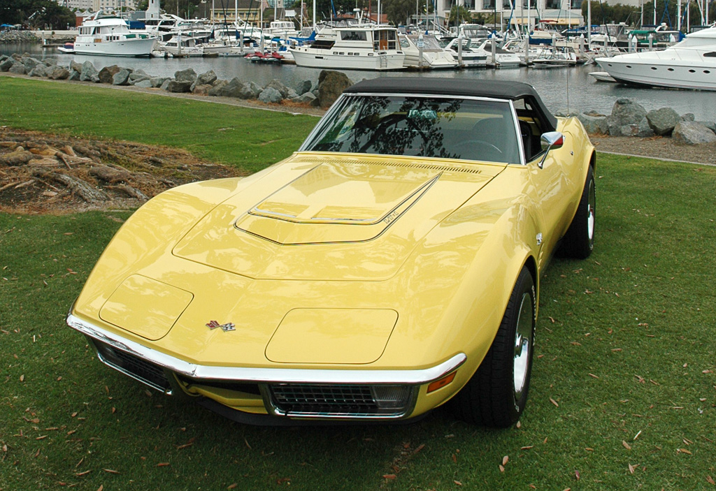 1970 Chevrolet Corvette in Daytona Yellow