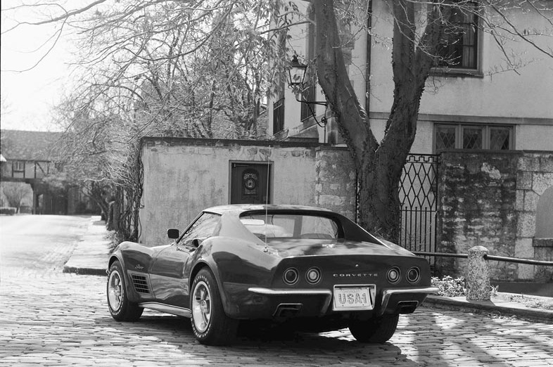 1970 Chevrolet Corvette GM Photo