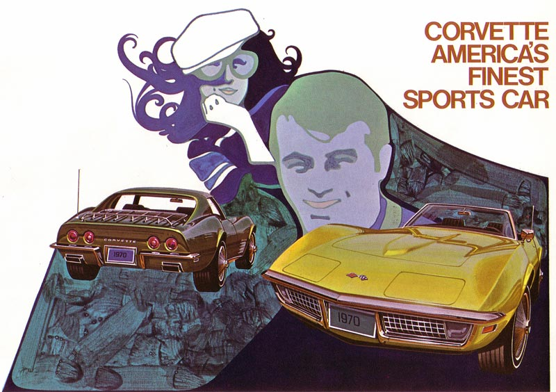 1970 Chevrolet Corvette Brochure Image