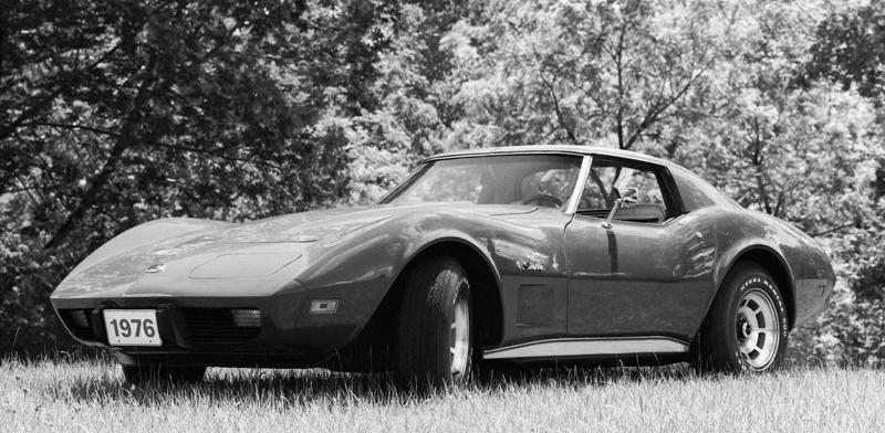 1976 Chevrolet Corvette GM Photo
