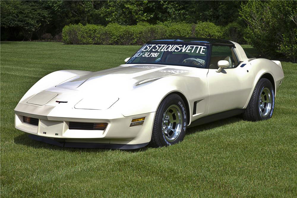 1981 Corvette - Last St. Louis MO Production