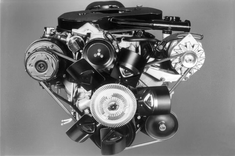 1982 Chevrolet Corvette Engine