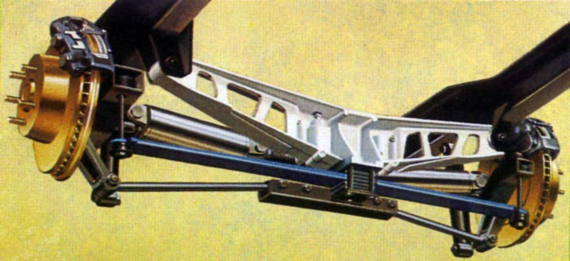 1982 Chevrolet Corvette Rear Suspension