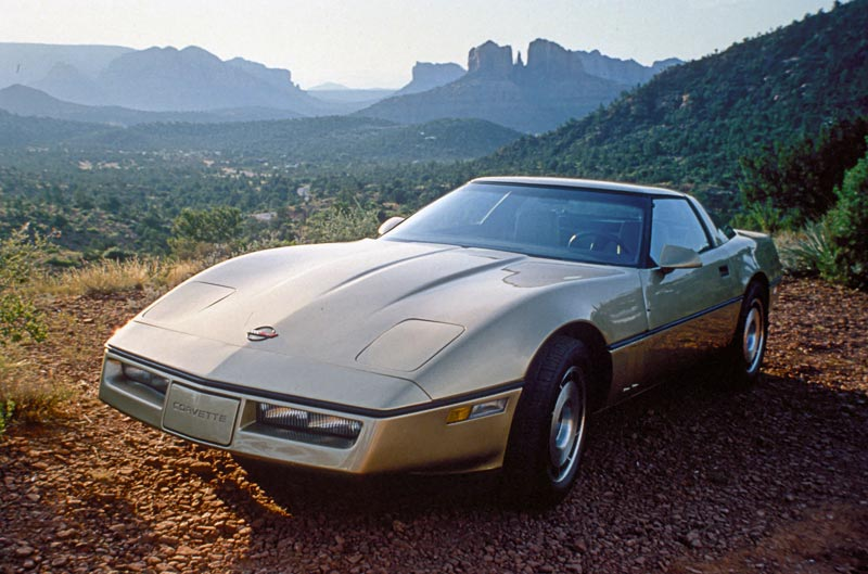 1984 Chevrolet Corvette GM Photo