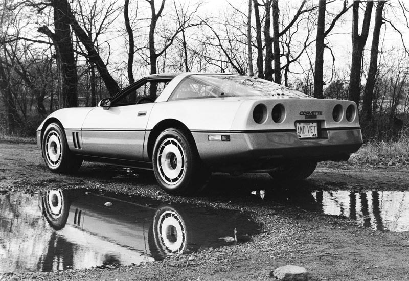 1985 Chevrolet Corvette GM Photo