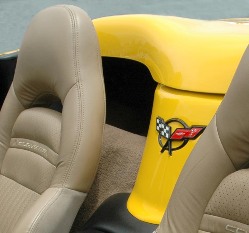 1998 Chevrolet Corvette Convertible Waterfall Interior