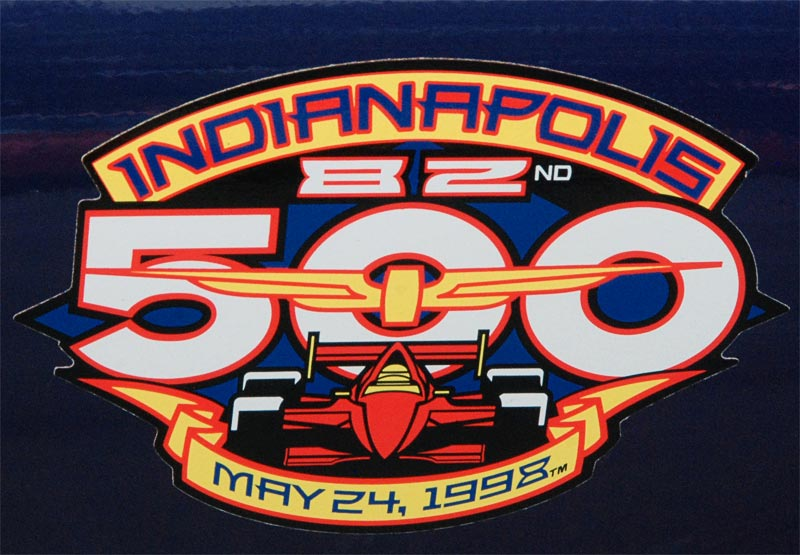 1998 Chevrolet Corvette Indy 500 Pace Car Decal