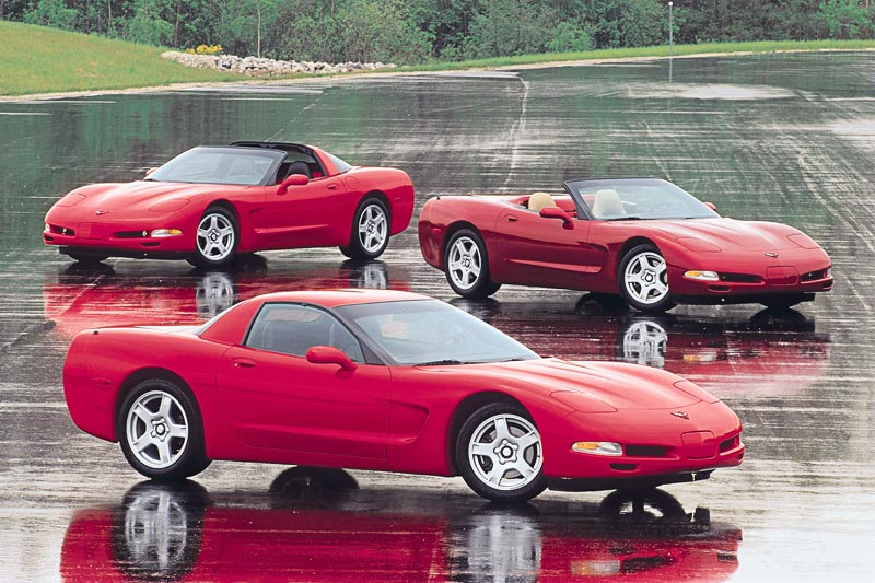 1999 Chevrolet Corvette Hardtop, Coupe and Convertible