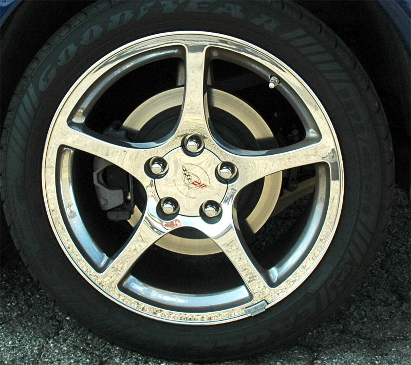 2000 Chevrolet Corvette Polished Wheel
