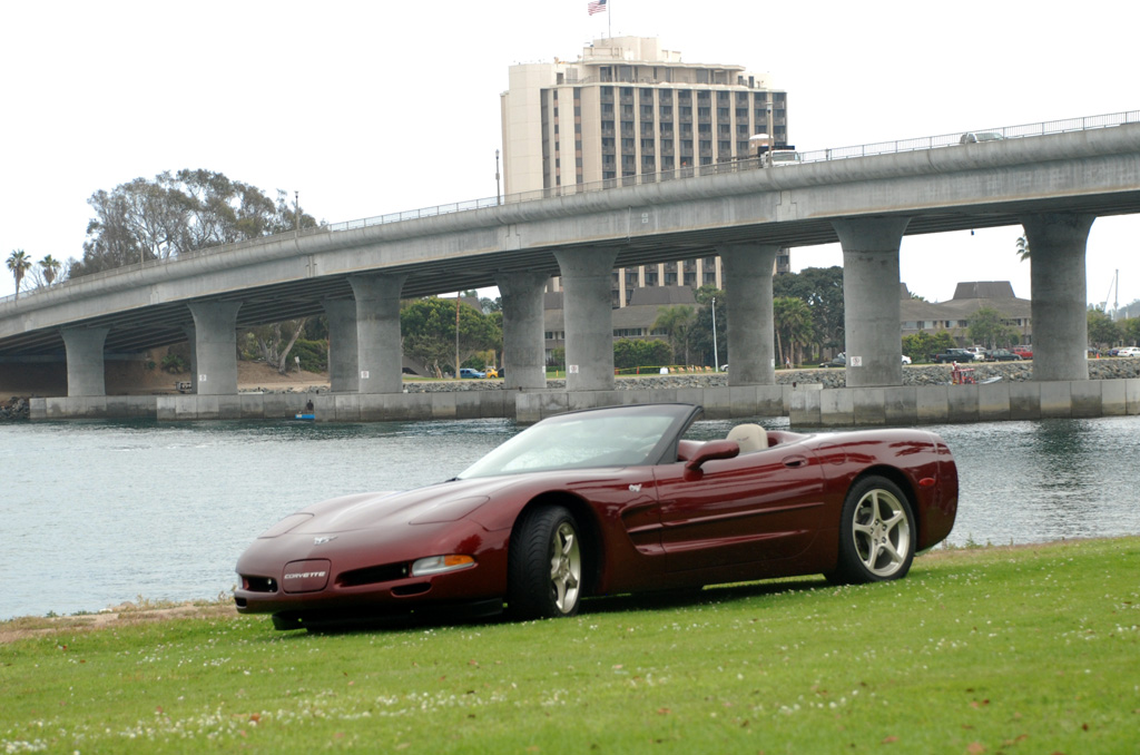 2003 Corvette Convertible C5 Anniversary Edition