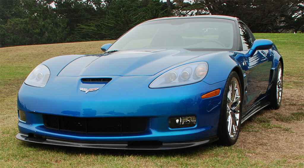 2009 Corvette ZR1 C6 in Jetstream Blue