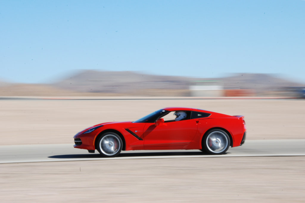 2014 C7 Corvette Willow Springs International Raceway - Motion Blur