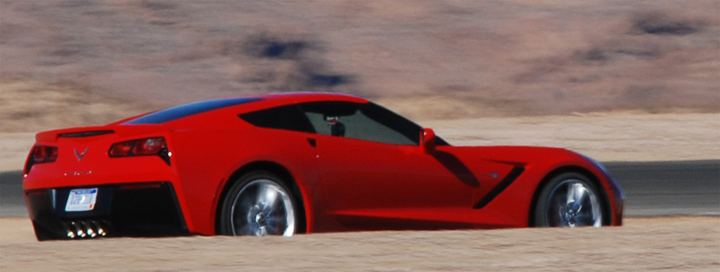 2014 Chevrolet Corvette at WIllow Springs Raceway