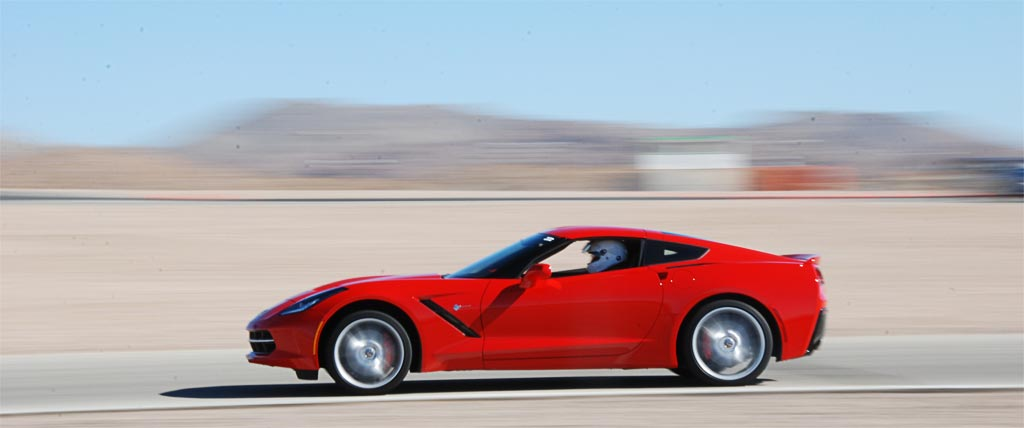 C7 Chevrolet Corvette at WIllow Springs International Raceway
