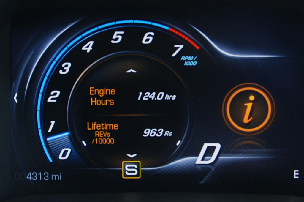 2014 Chevrolet Corvette Engine Hours