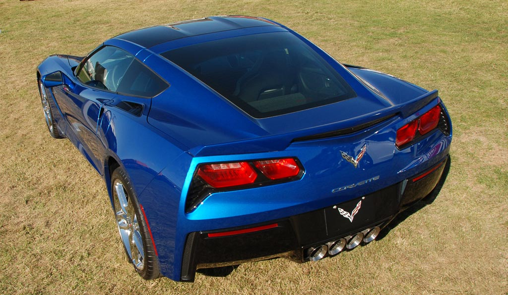 2014 Chevrolet Corvette in Laguna Blue
