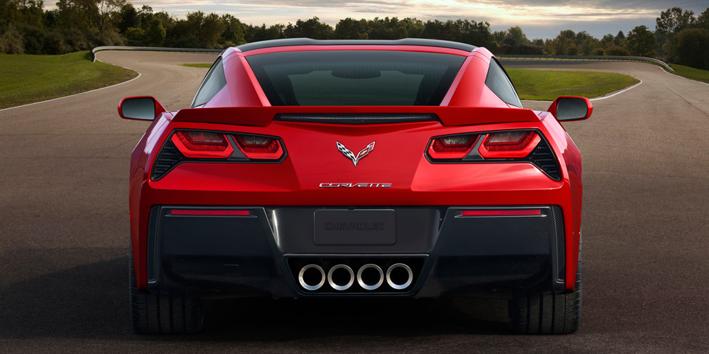 2014 Chevrolet Corvette Tail Lights
