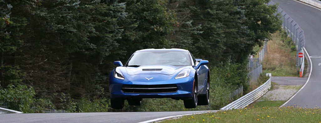 C7 Chevrolet Corvette at Speed