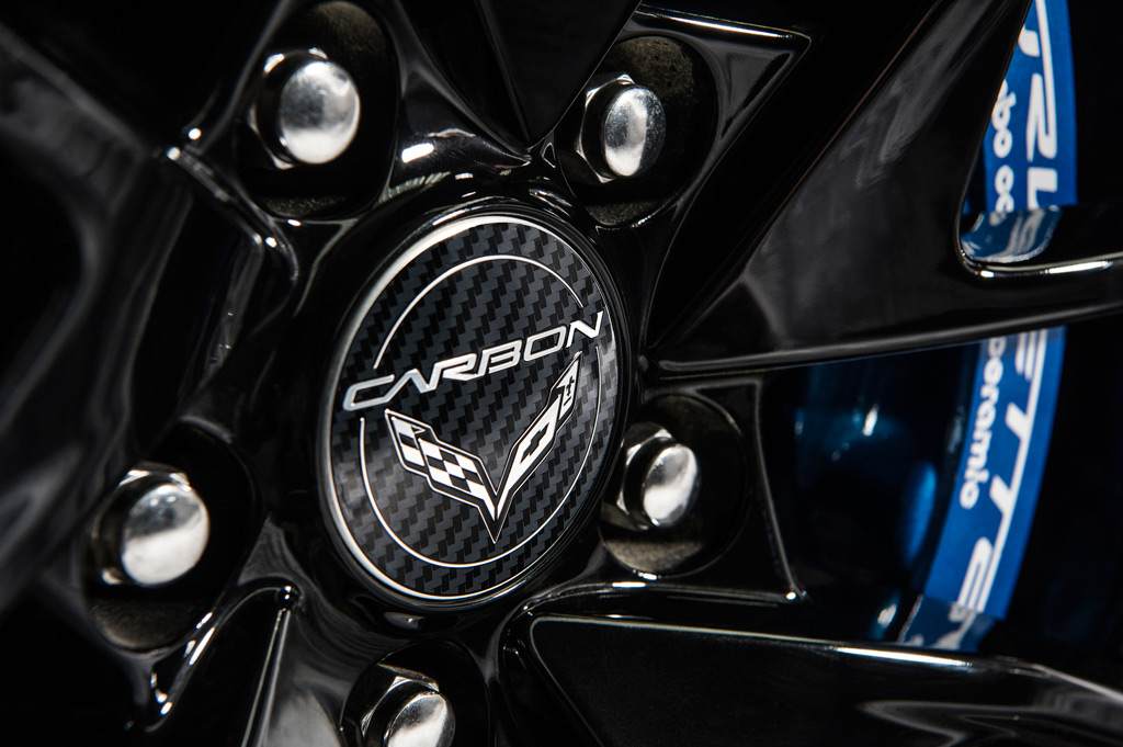 2018 Chevrolet Corvette Carbon 65 Edition Wheel Cap