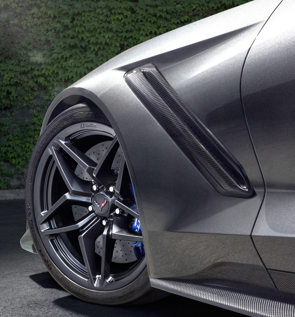 2019 Corvette ZR1 Front Wheel