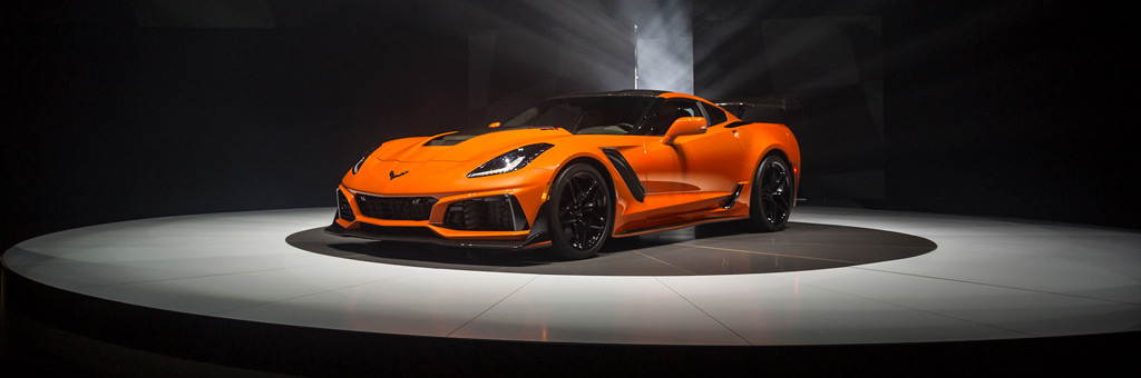 2019 Chevrolet Corvette ZR1 in Sebring Orange
