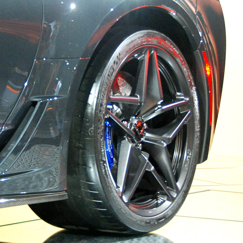 2019 Corvette ZR1 Rear Wheel