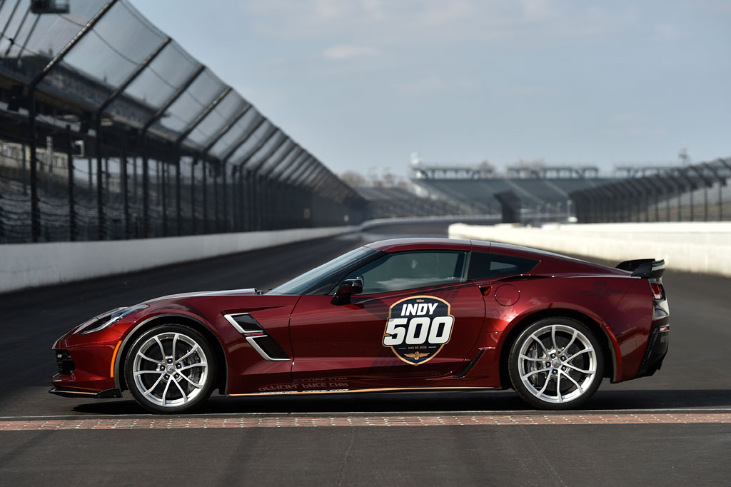 2019 Chevrolet Corvette Grand Sport Indy 500 Pace Car
