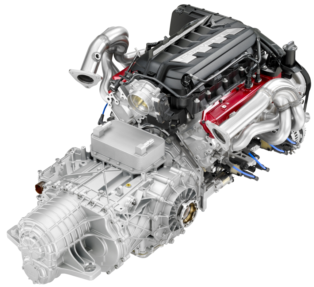 2020 Chevrolet Corvette C8 LT2 Engine M1L Transmission