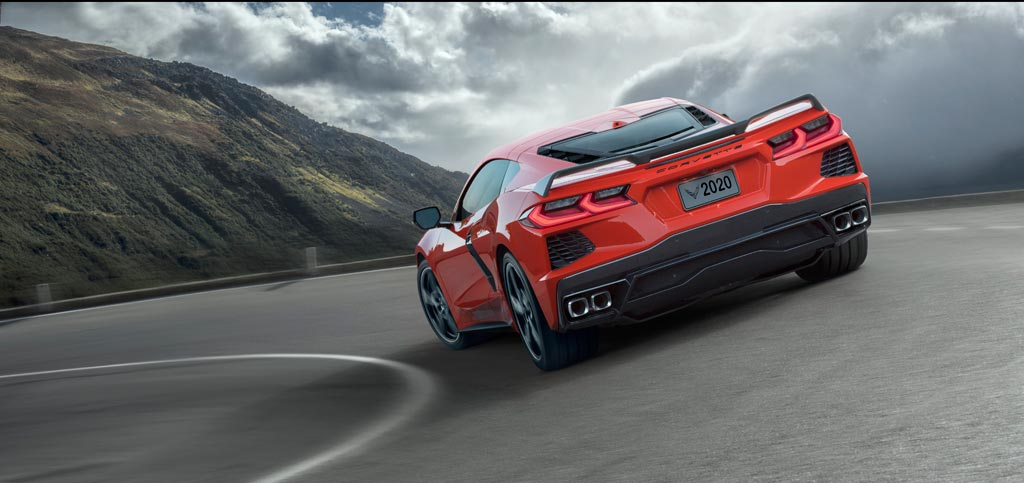2020 Chevrolet Corvette C8 in Torch Red