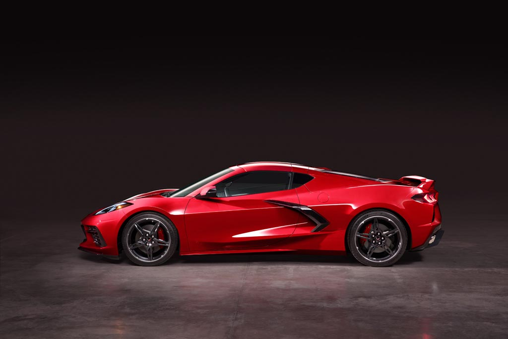 2020 Chevrolet Corvette C8 mid engine