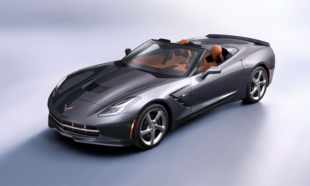 Chevrolet Corvette Stingray Convertible in Cyber Gray