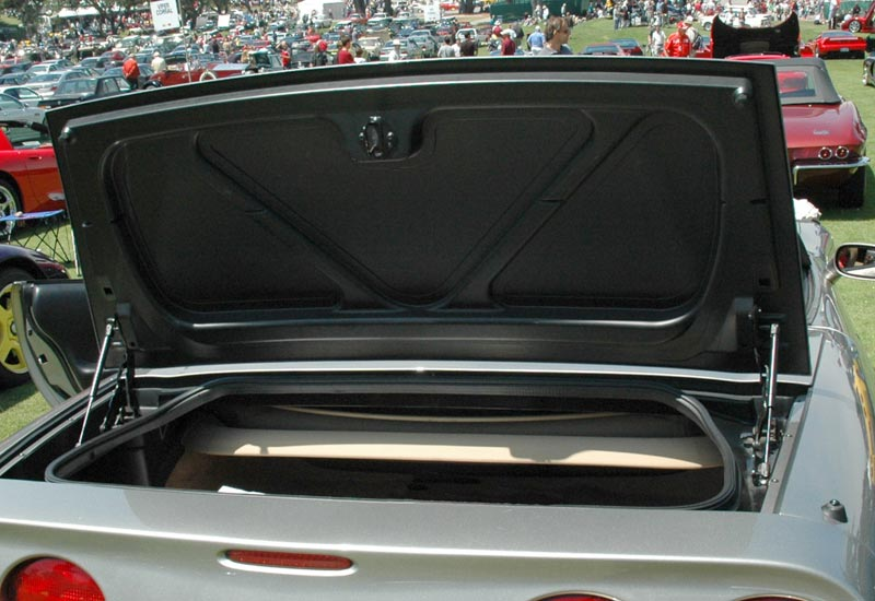 1998 Chevrolet Corvette Convertible Trunk