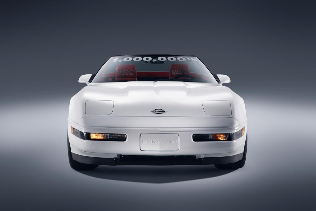 1992 1,000,000th Chevrolet Corvette Convertible in White - Restored