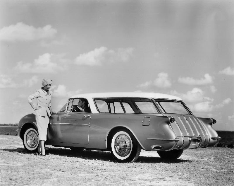 Early Chevrolet Nomad Convept