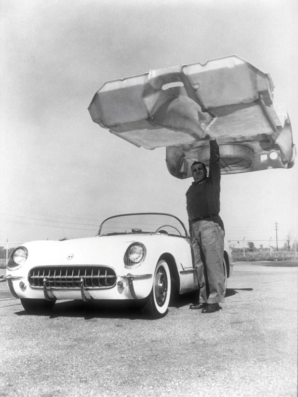 Early Corvette Fiberglass