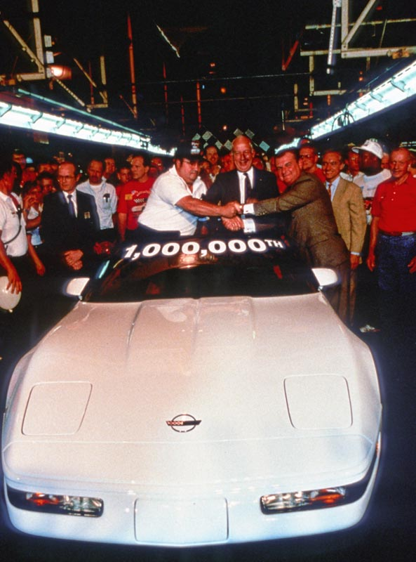 1,000,000th Corvette ceremony