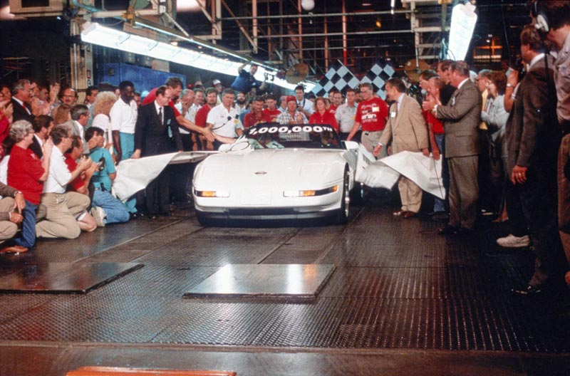 One millionth Corvette ceremony